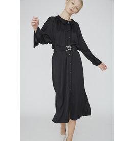 SHIRT DRESS  BLACK