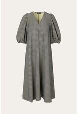 NAVY CHECK DRESS