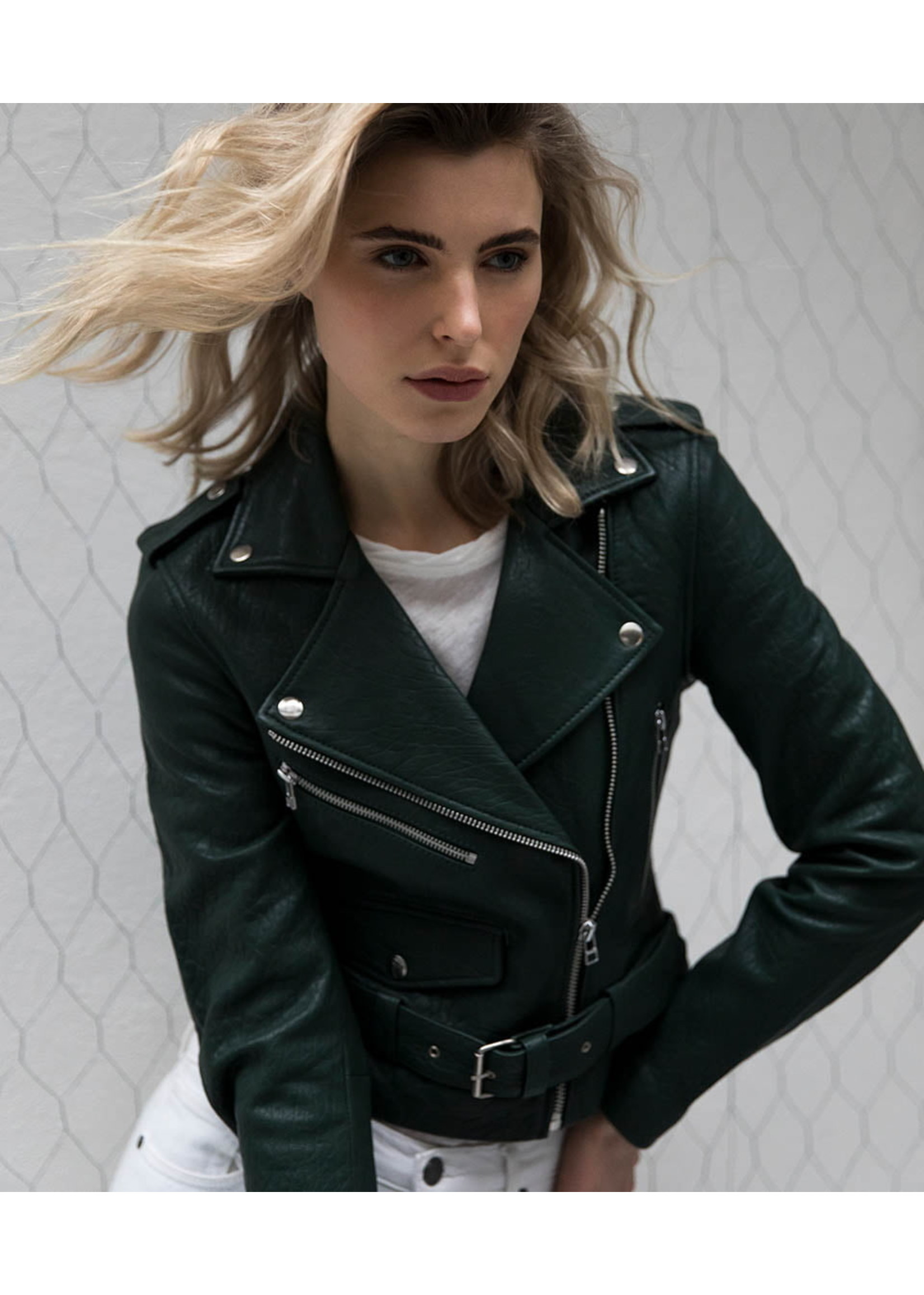 LEATHER BIKER (DIFFERENT COLORS)