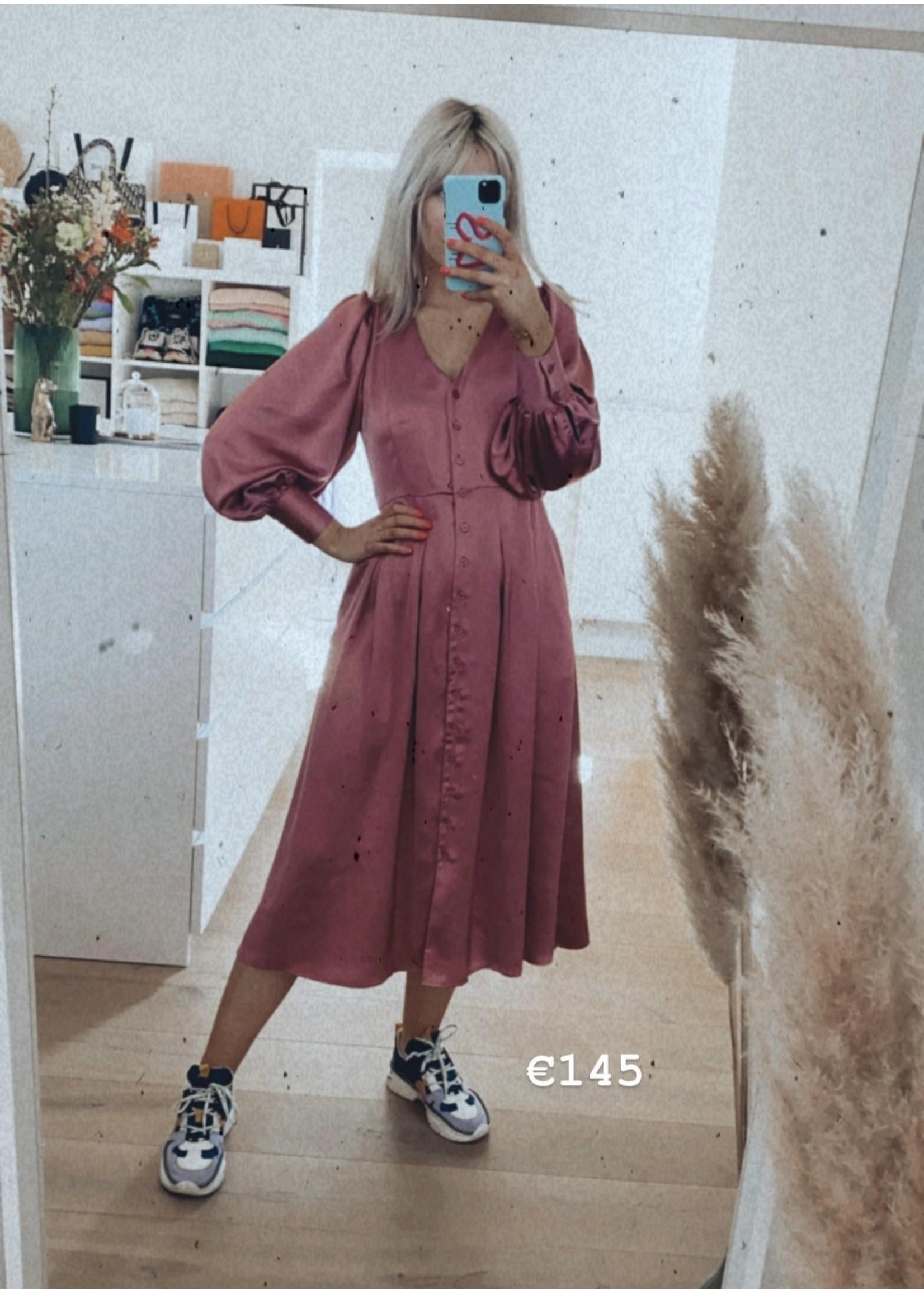 SATIN LOOK DRESS