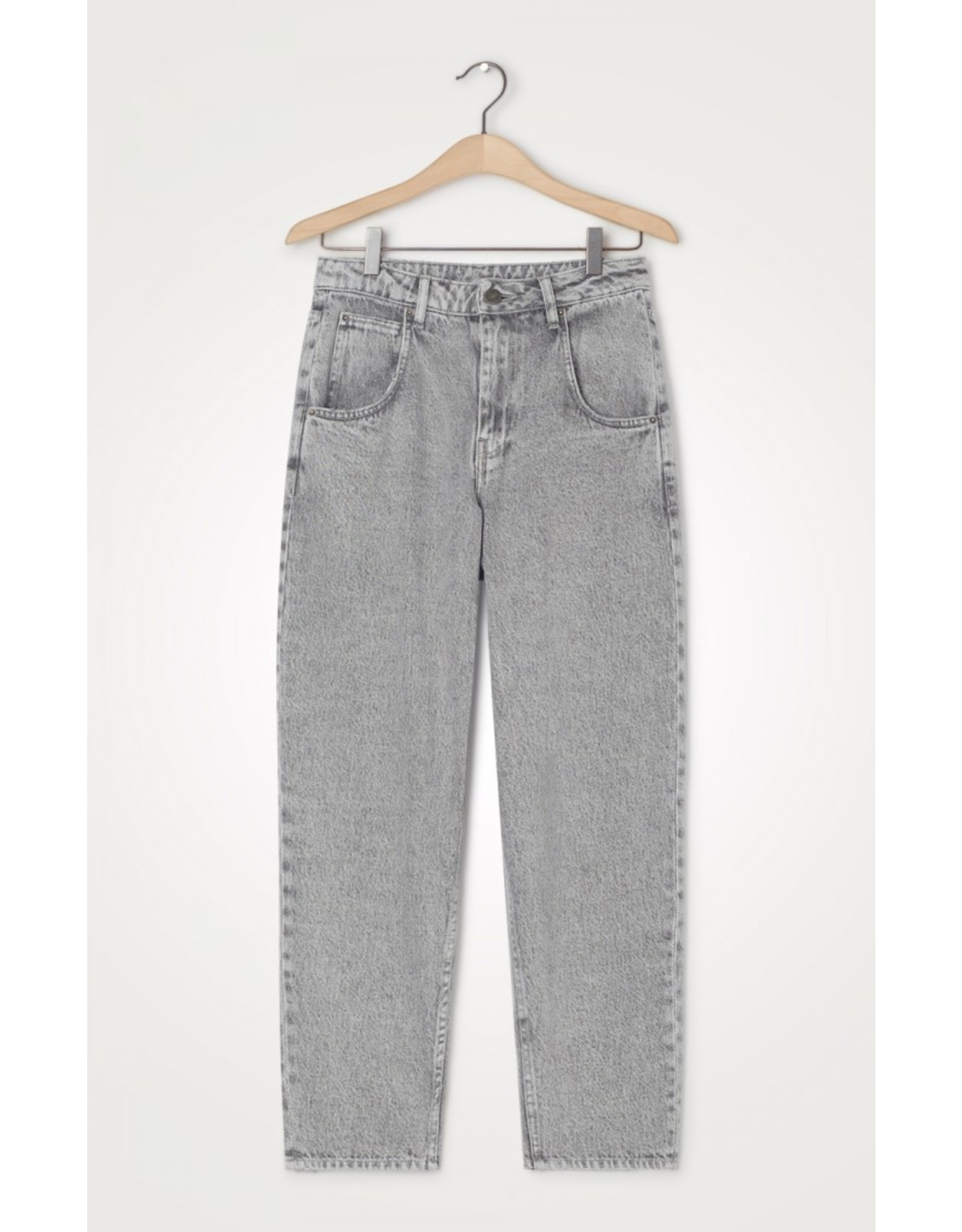 CARROT JEANS GREY