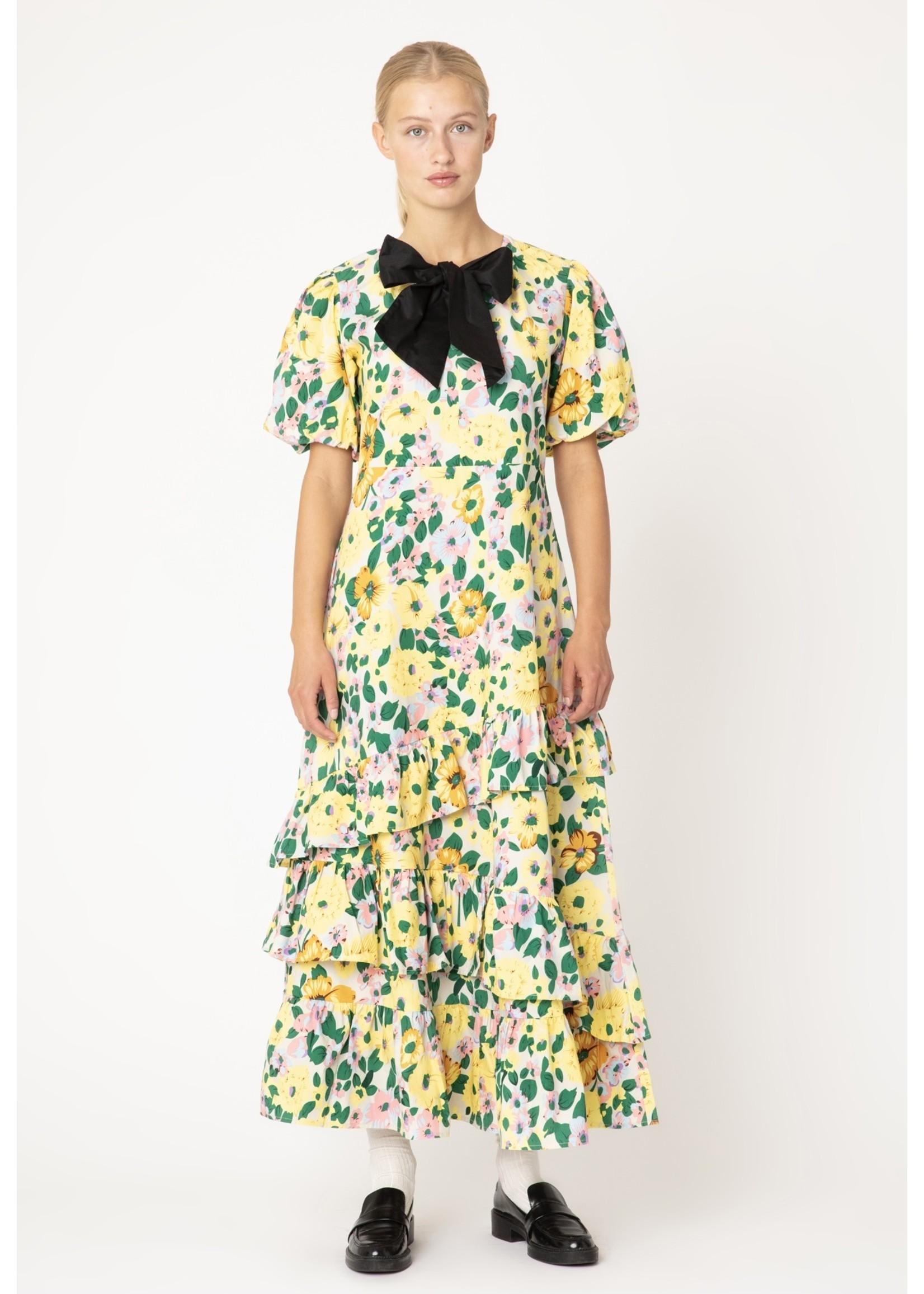 FLOWER BOW DRESS