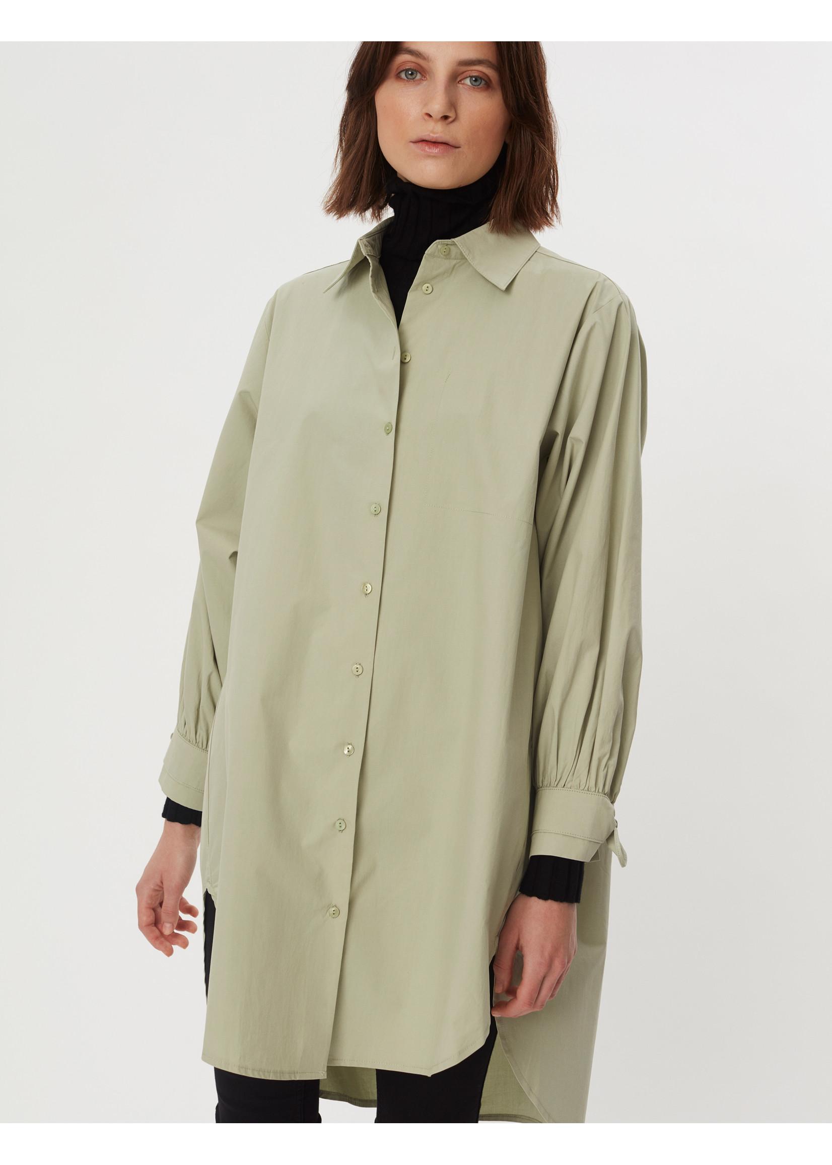 SHIRT DRESS SAGE