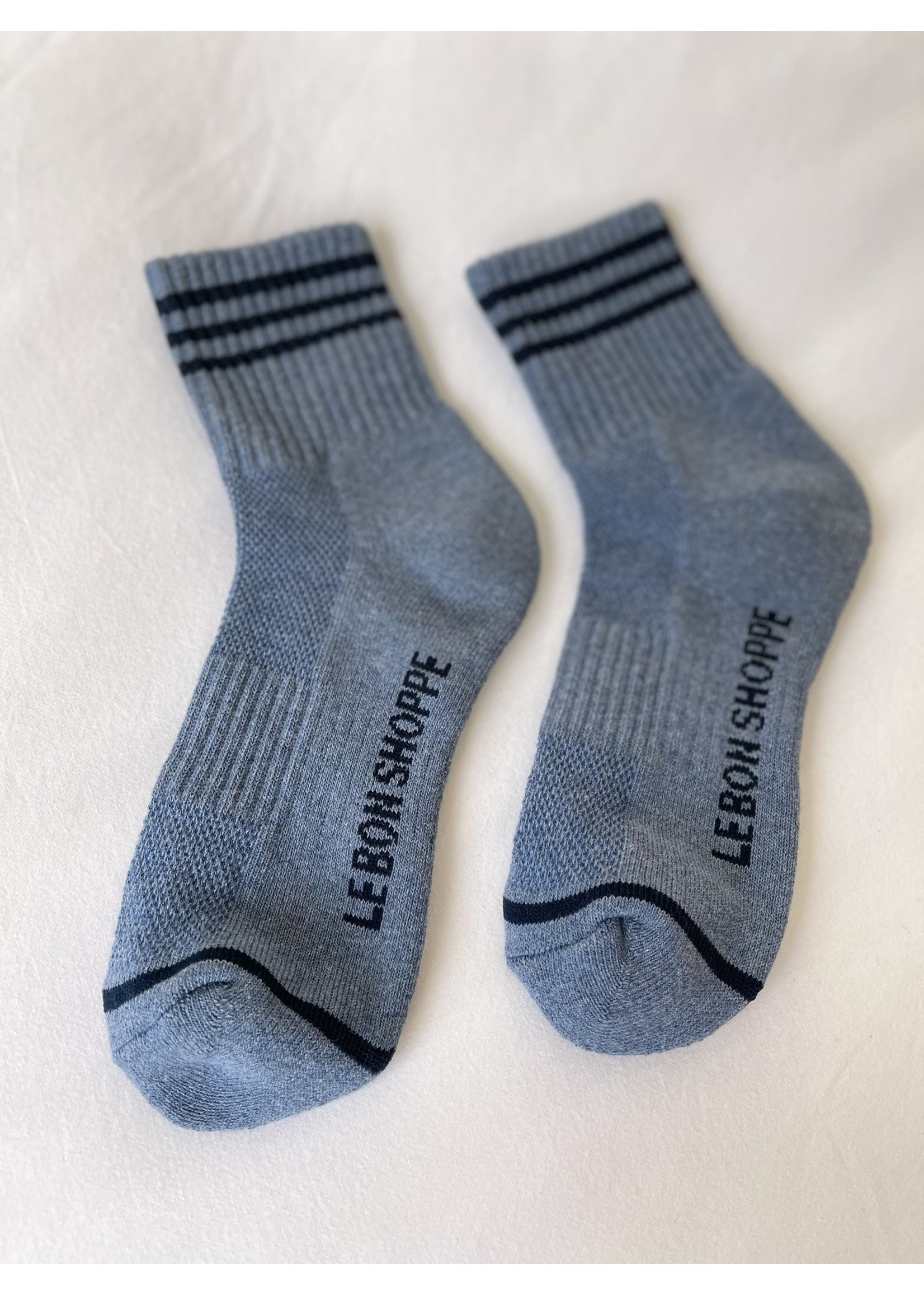 GIRLFRIEND SOCKS INDIGO