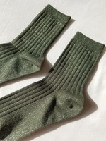 MODAL LUREX SOCKS PINE