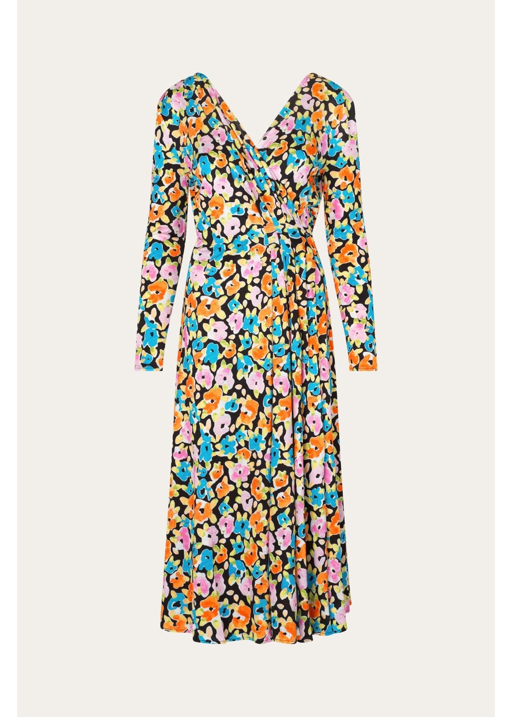 JERSEY DRESS FLOWER