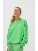 SWEATSHIRT NEON GREEN