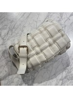 PADDED BAG OFF WHITE