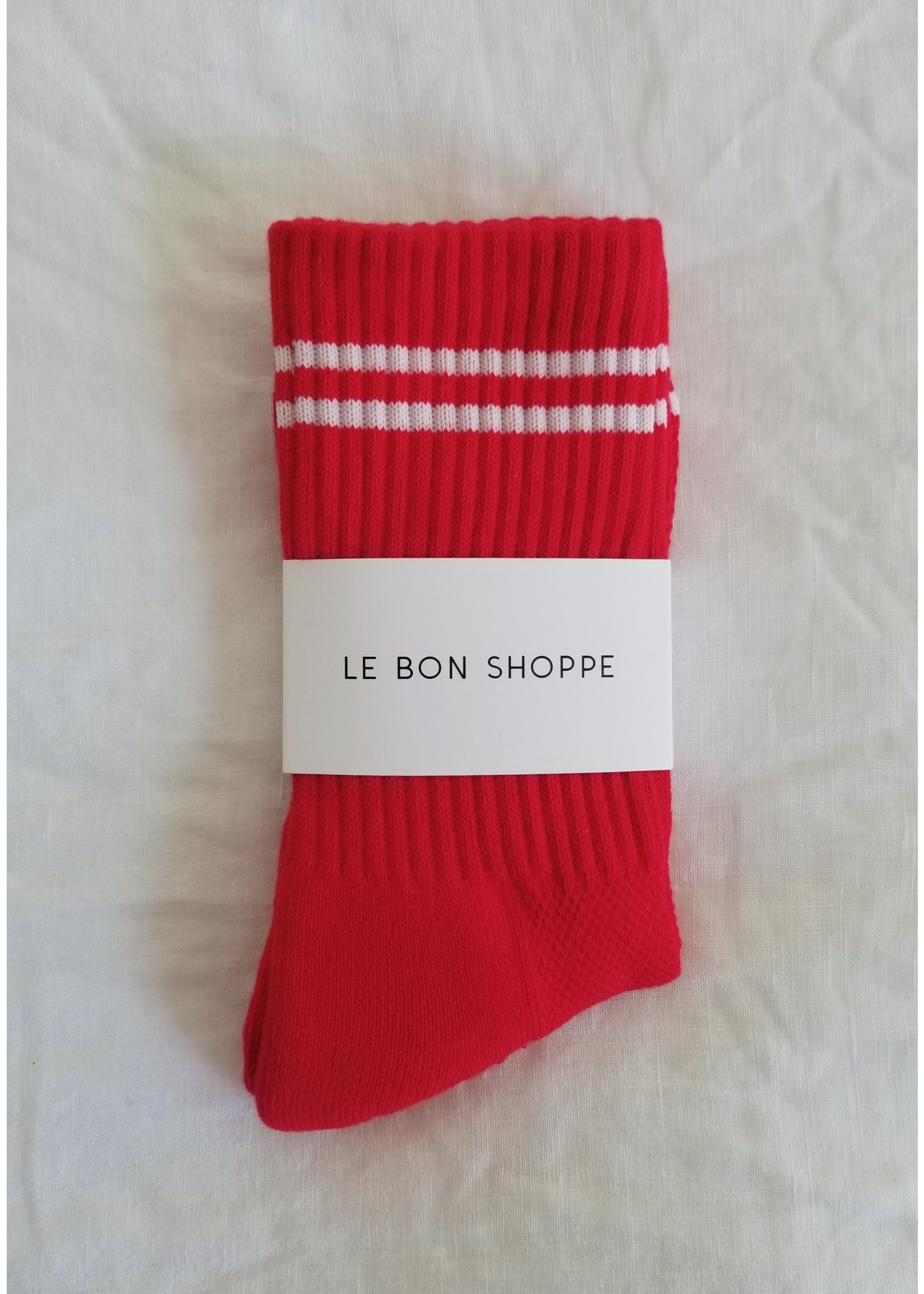 BOYFRIEND SOCKS RED