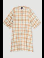 CHECK SHORT DRESS