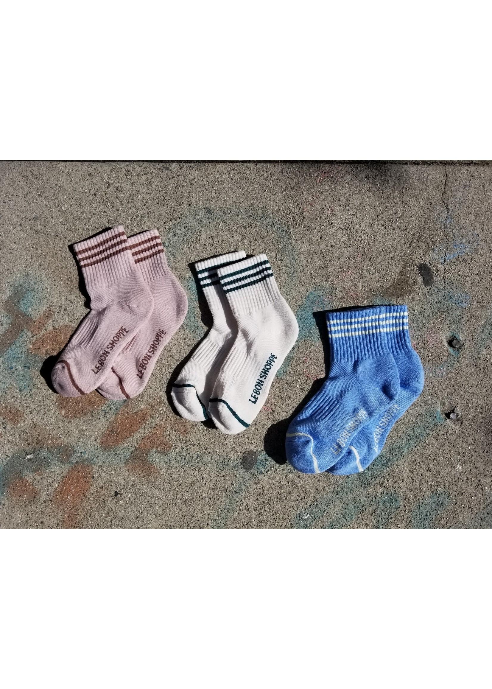 GIRLFRIEND SOCKS PARISIAN BLUE 36-41