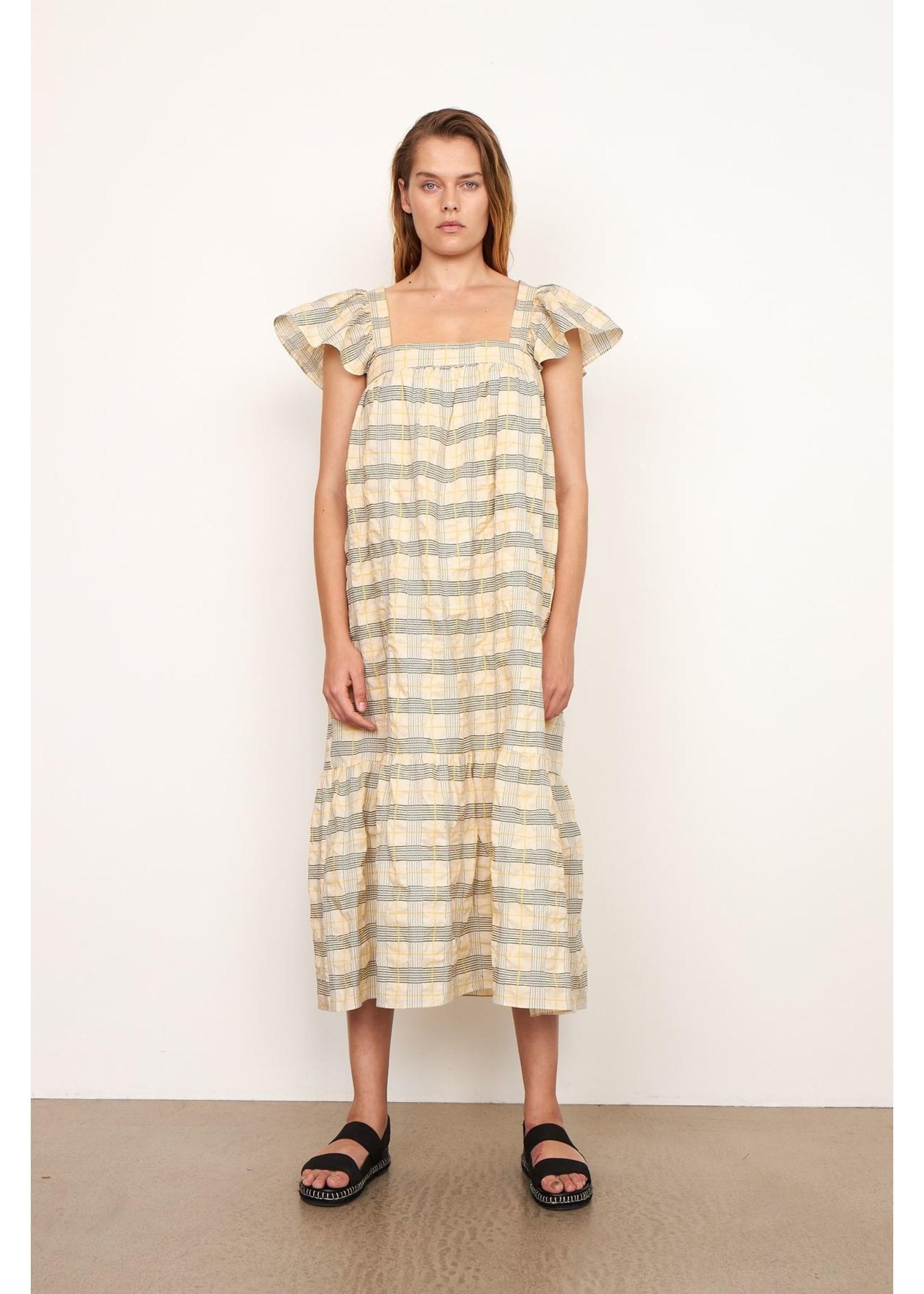 CROSS BACK STRAP DRESS