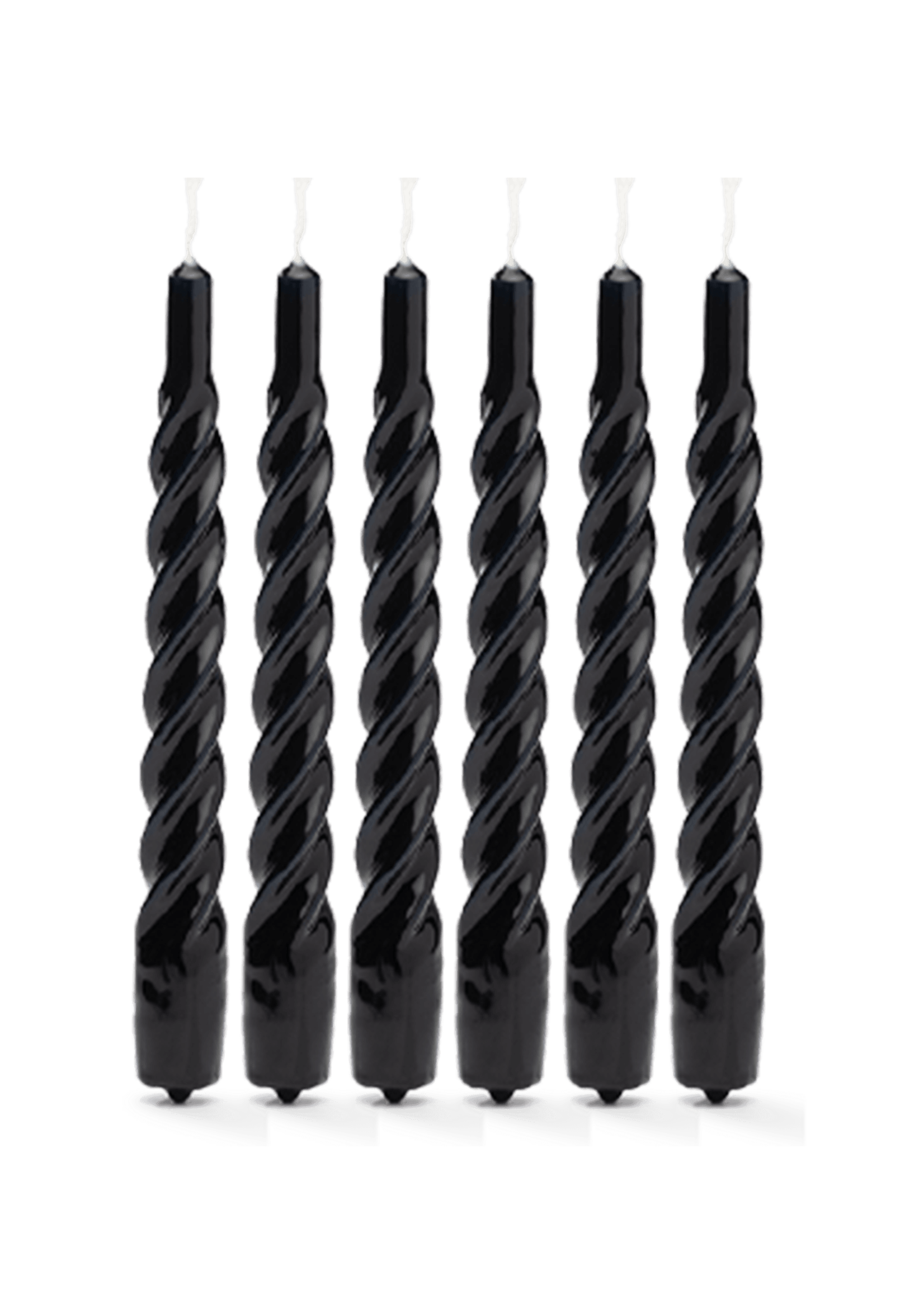 TWISTED CANDLE BLACK