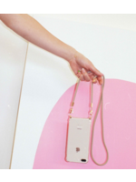 IPHONE CASE WITH BEIGE CORD