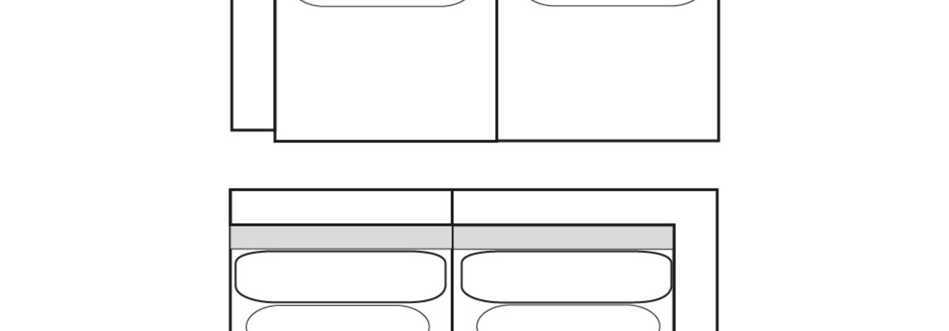 CLASSIC PARK 2-zits (arm L/R)