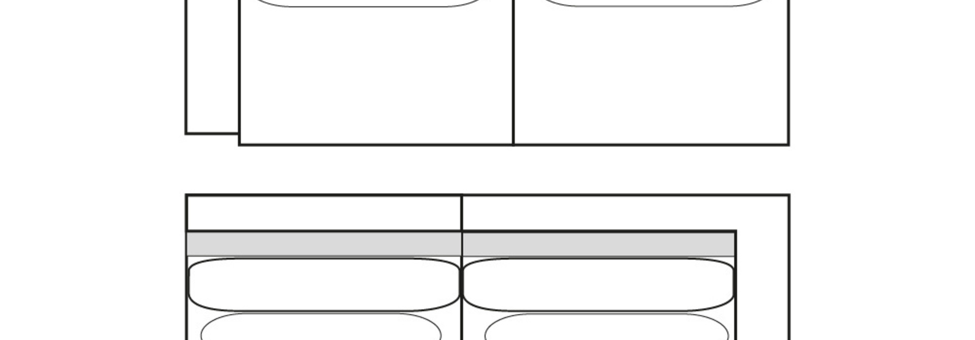 CLASSIC PARK 2,5-zits (arm L/R)