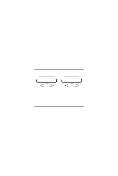 ELEGANT PARK 2-zits XL (zonder armen)