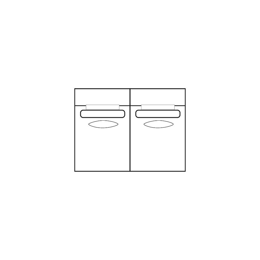 ELEGANT PARK 2-zits XL (zonder armen)-1