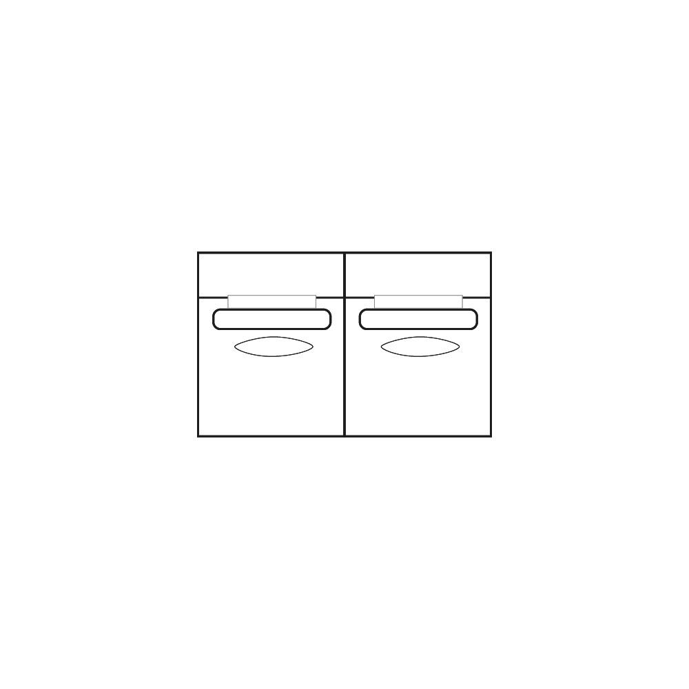 ELEGANT PARK 2-zits L (zonder armen)-1