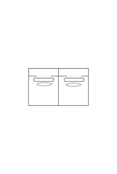 ELEGANT PARK 2,5-zits XL (zonder armen)
