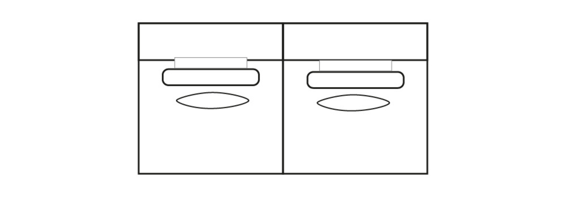 ELEGANT PARK 2,5-zits L (zonder armen)