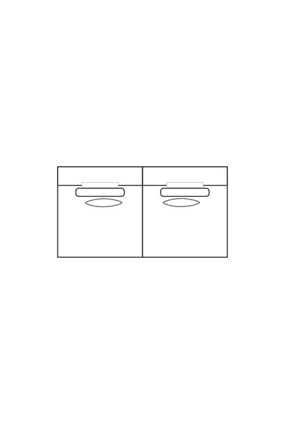 ELEGANT PARK 3-zits XL (zonder armen)