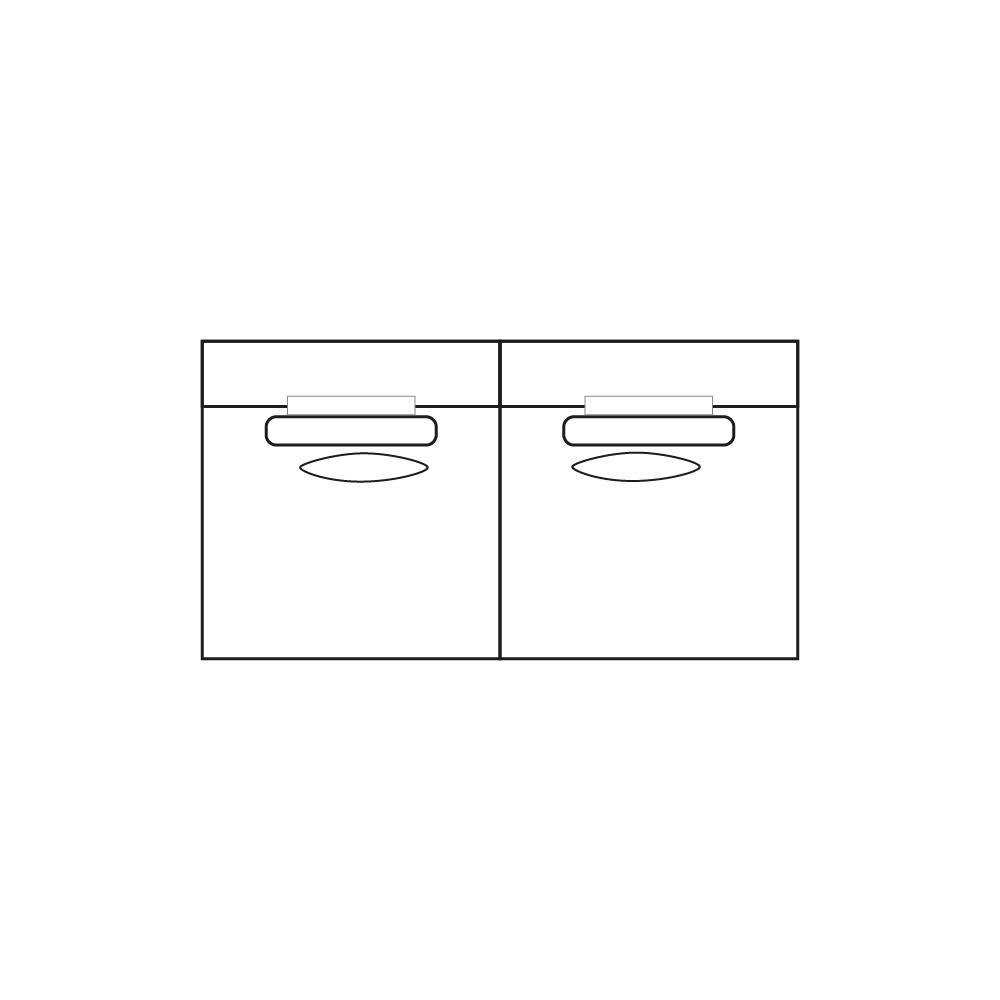 ELEGANT PARK 3-zits XL (zonder armen)-1