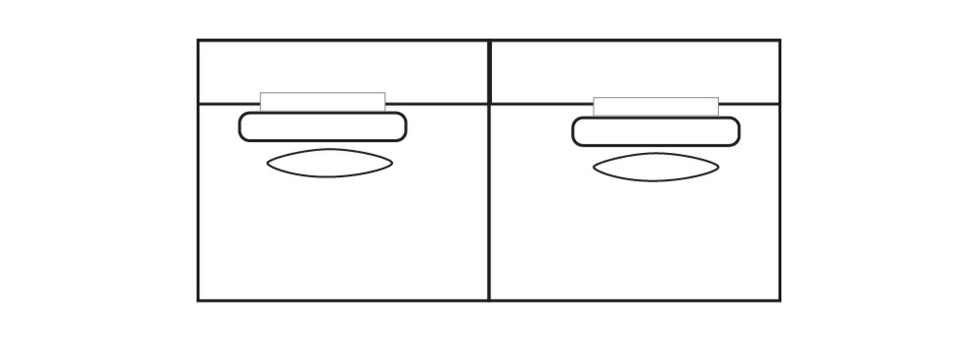 ELEGANT PARK 3-zits L (zonder armen)