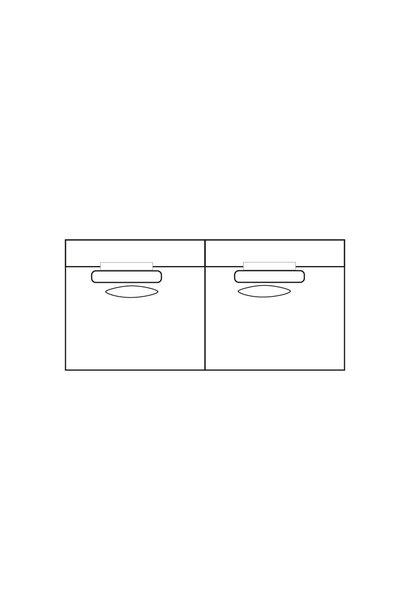 ELEGANT PARK 4-zits XL (zonder armen)