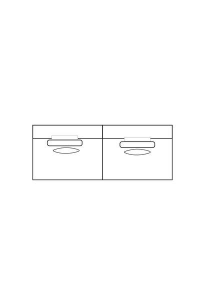 ELEGANT PARK 4-zits L (zonder armen)