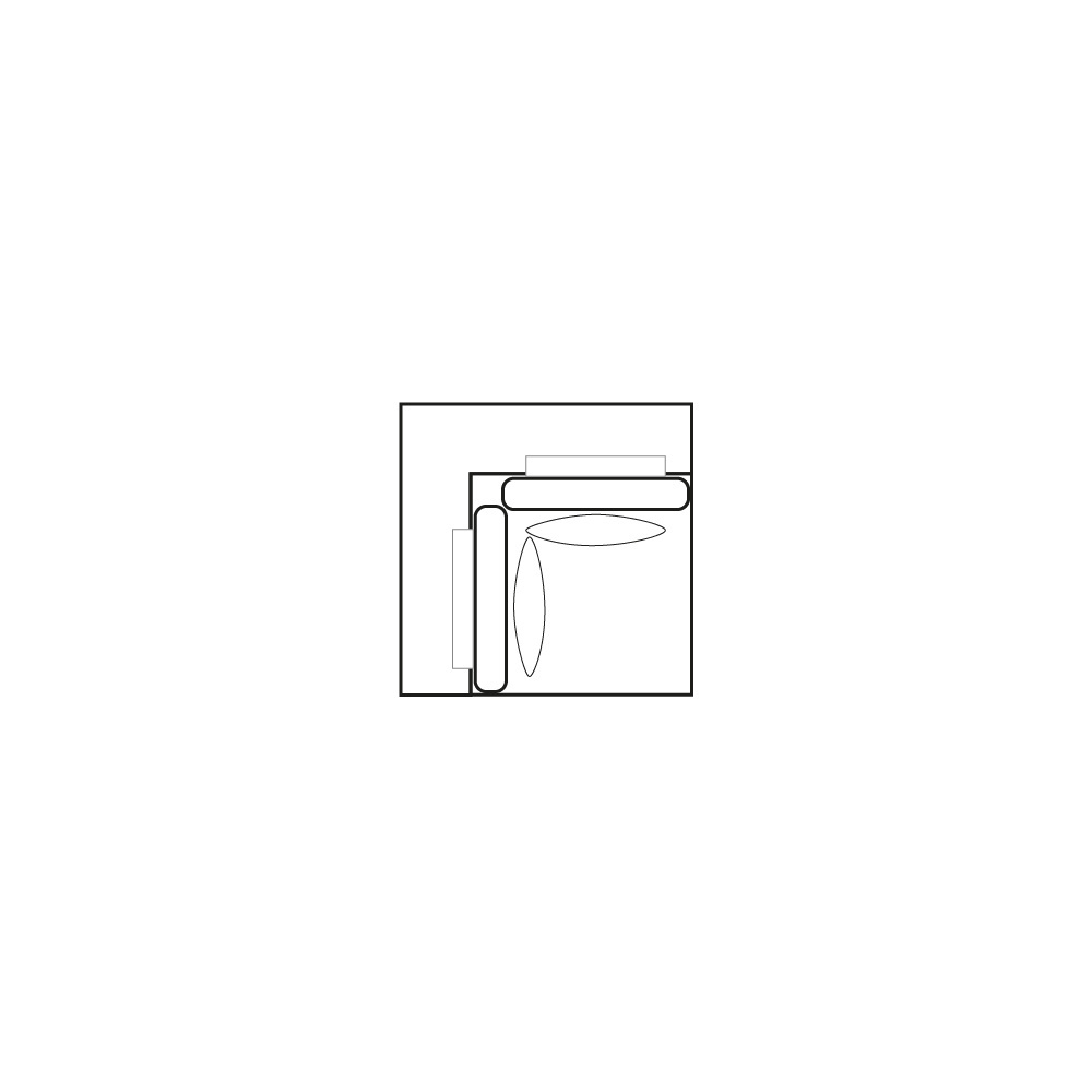 ELEGANT PARK Hoek- element L/L-1
