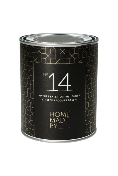 No. 14 NATURE EXTERIOR FULL GLOSS linseed lacquer