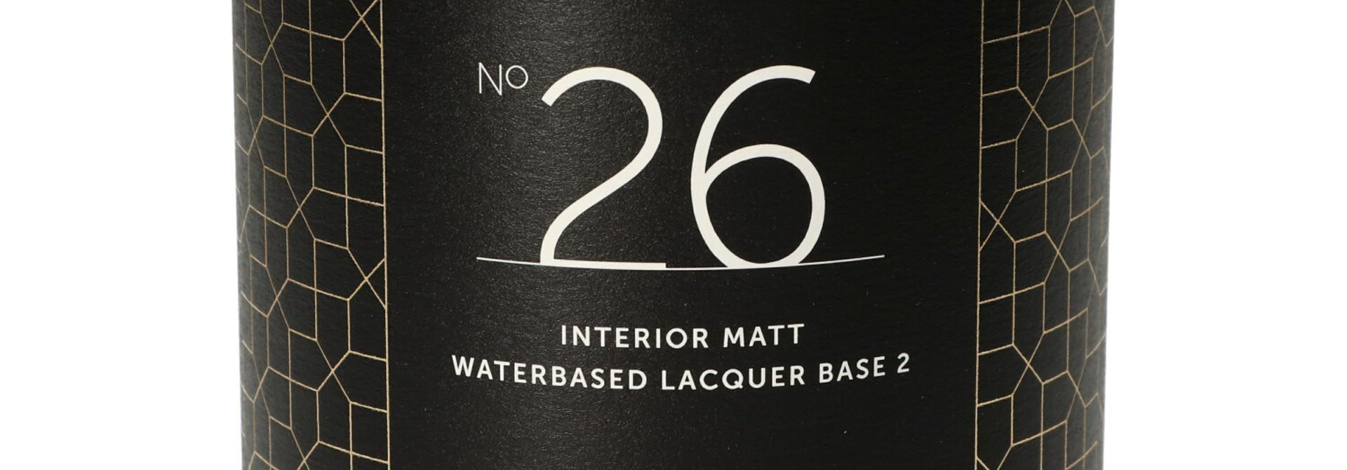 No. 26 INTERIOR MATT - 1L