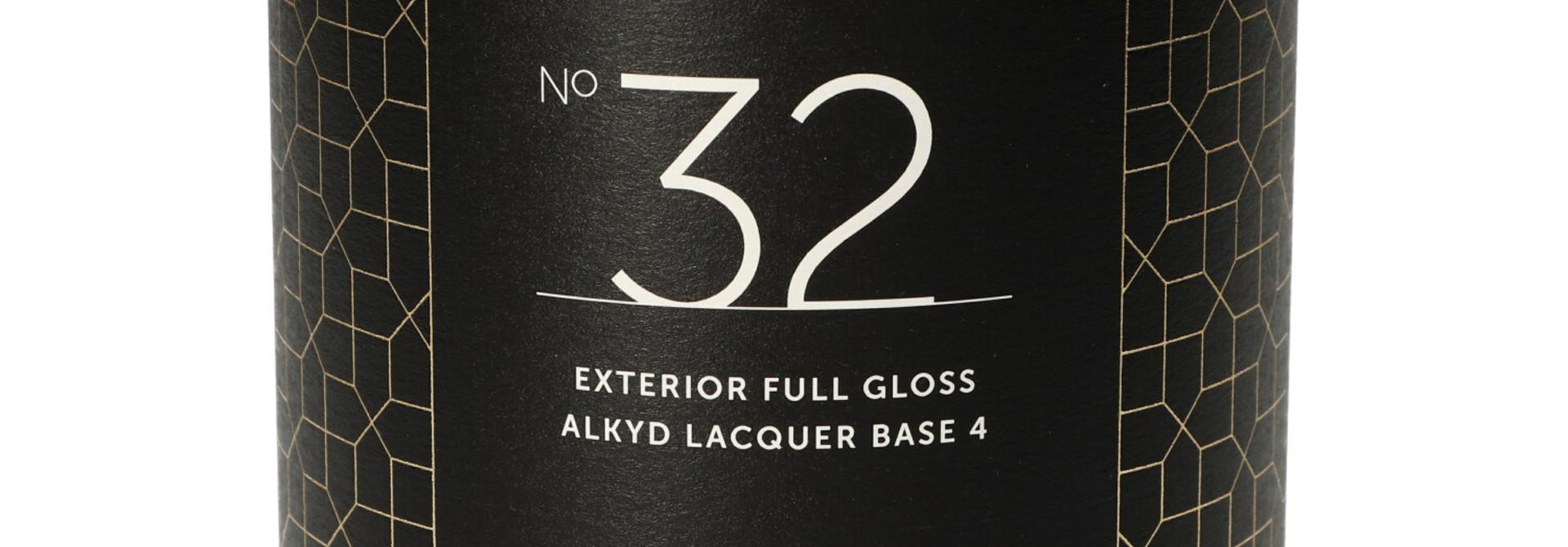 No. 32 EXTERIOR FULL GLOSS alkyd - 1L