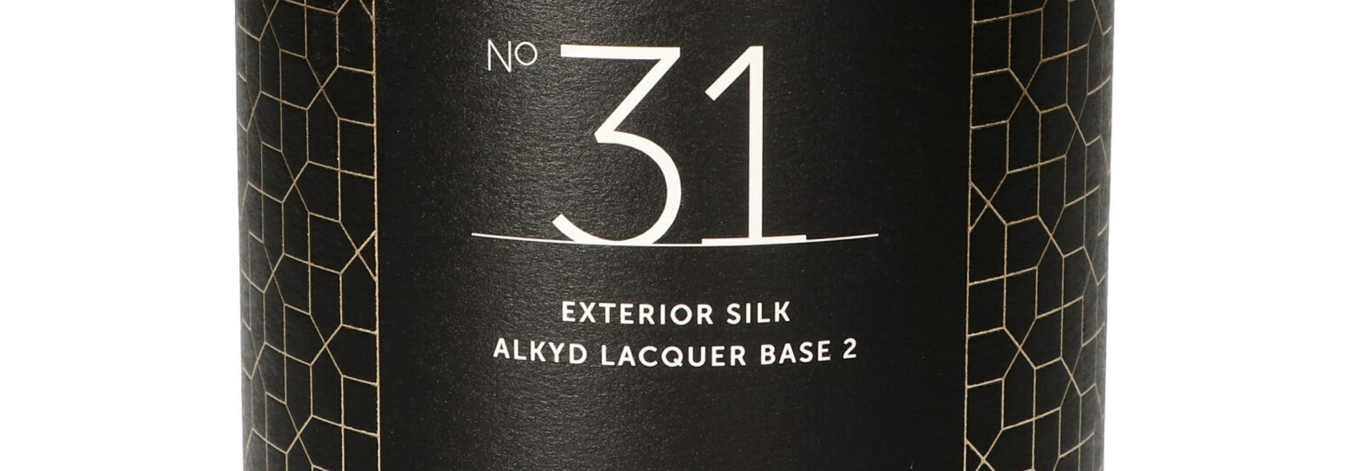 No. 31 EXTERIOR SILK alkyd - 1L