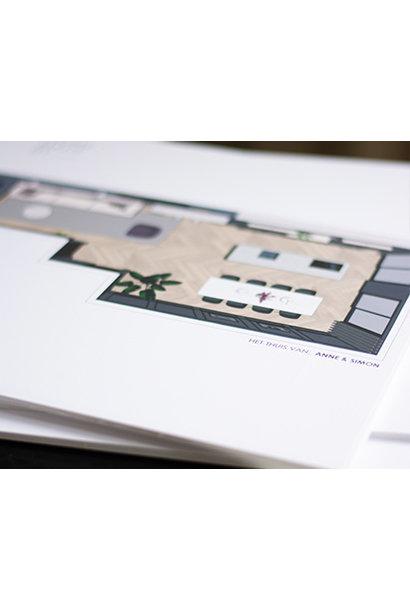 Design 3D plan