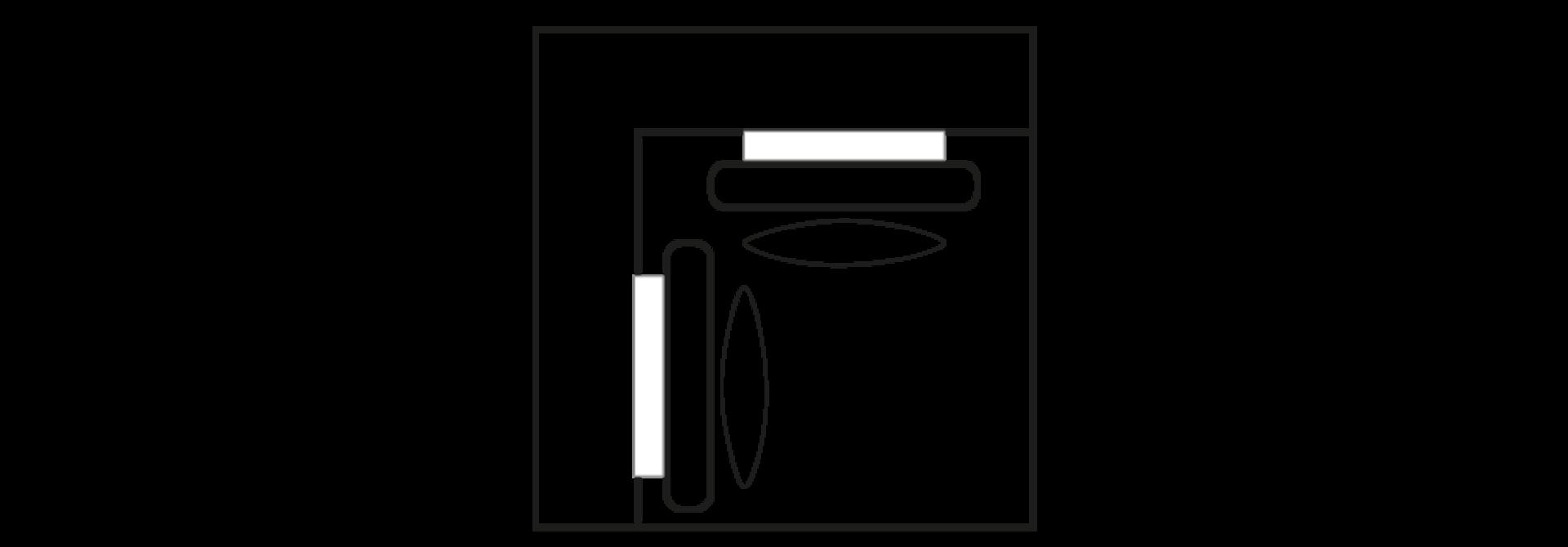 ELEGANT PARK Hoek- element XL/XL
