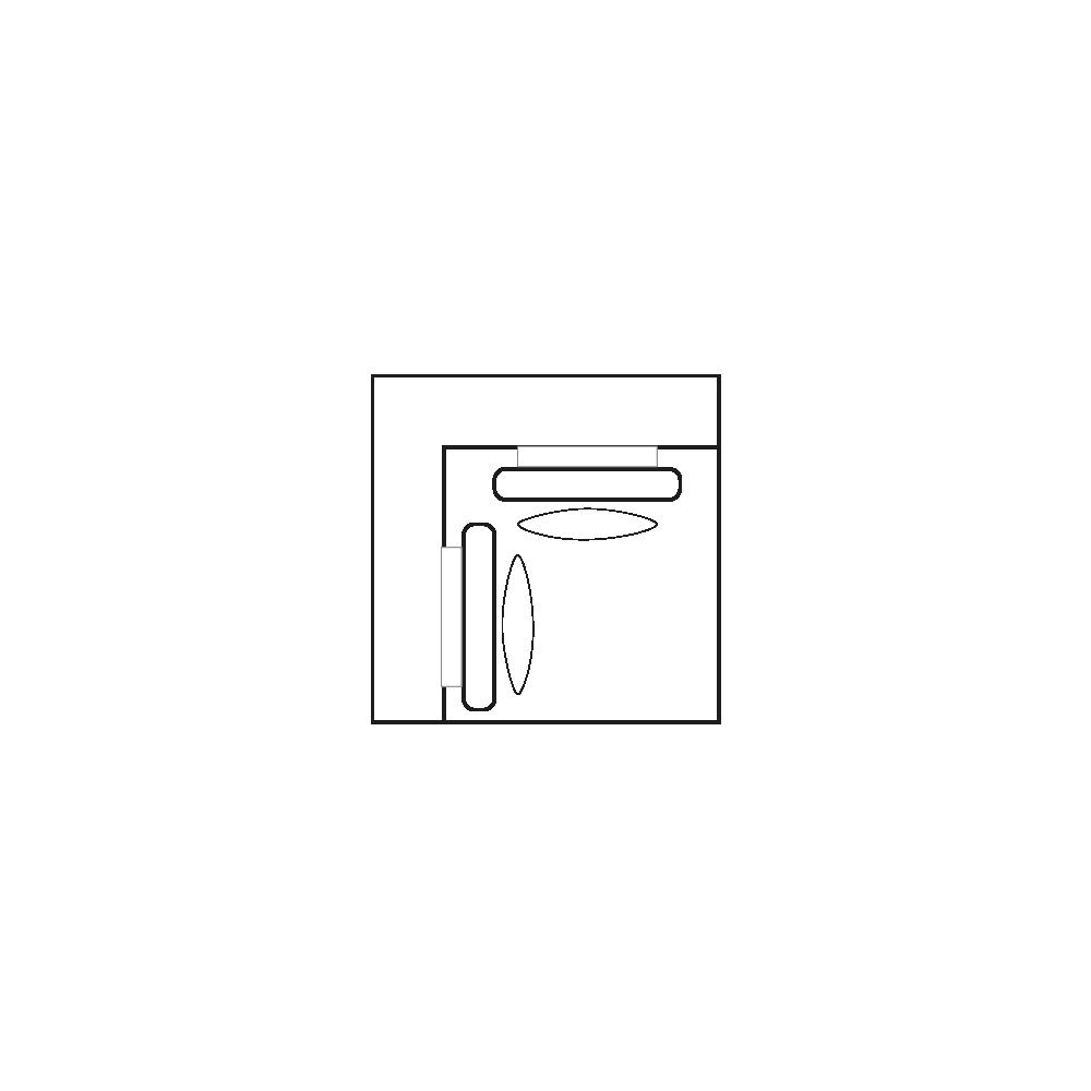 ELEGANT PARK Hoek- element XL/XL-1