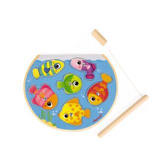 Janod Puzzelspel - snelle vissen