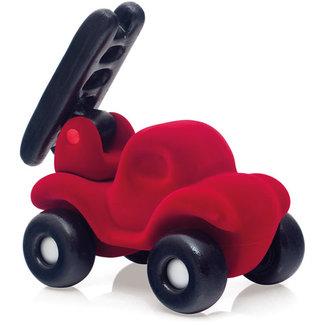 Rubbabu Brandweerauto groot (rood)