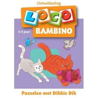 Loco Bambino Puzzelen met Dikkie Dik