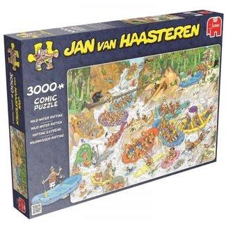 Jumbo Puzzels, Legpuzzels - Jan van Haasteren Wild Water Raften, 3000 stukjes