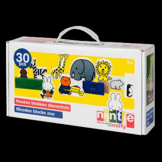 Nijntje Blokken dierentuin (30-delig)