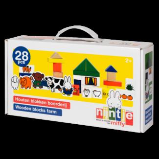 Nijntje Blokken boerderij (28-delig)