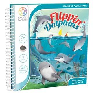 SmartGames Magneet puzzel, spel - Flippin' Dolphins (48 opdrachten)
