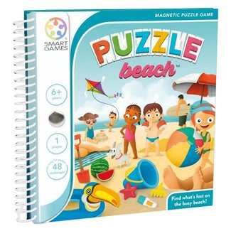SmartGames Magneet puzzel, spel - Puzzle Beach (48 opdrachten)