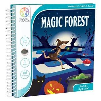 SmartGames Magneet puzzel, spel - Magical Forest (48 opdrachten)