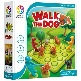 SmartGames Walk the dog (80 opdrachten)