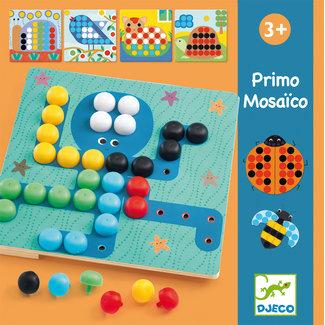 Djeco Educatief, Educatieve puzzels - eerste mozaiek (Primo Mosaïco)