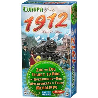 Day of Wonder Ticket to Ride - Europa 1912